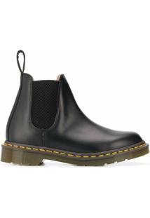 Comme Des Garçons Comme Des Garçons Ankle Boot X Dr. Martens - Preto
