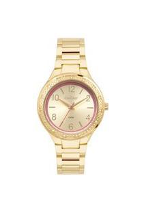 Relógio Condor Feminino Model Analógico Dourado Co2035Mqi4D
