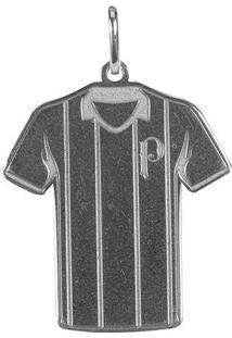 Pingente Infantil Palmeiras Camisa Listrada - Unissex
