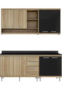 Cozinha Compacta Carlos I 8 Pt 3 Gv Argila