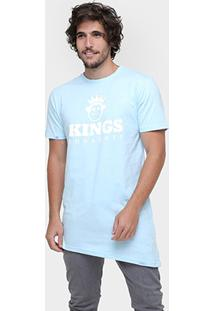 Camiseta Kings Oversized Assimétrica Candy - Masculino