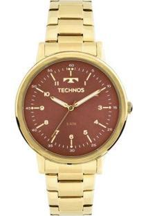 Relógio Technos Dress 2035Mfn/4R Dourado 2035Mfn/4R - Feminino-Dourado