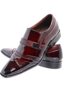 Sapato Social Gofer 11209 Vinho