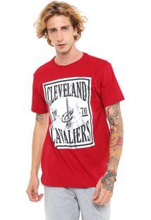 Camiseta Nba Cleveland Cavaliers Vermelha