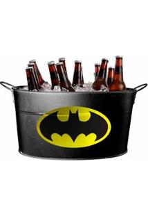 Balde De Gelo De Metal Batman Dc Comics