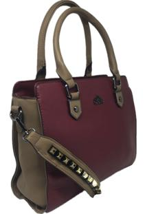Bolsa Feminina Importada Casual Sys Fashion 8526 Vermelho