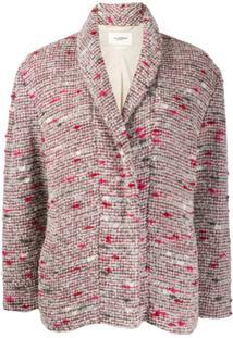 Isabel Marant Étoile Tweed Cocoon Jacket - Vermelho