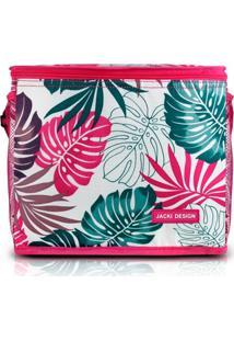 Bolsa Térmica Grande Jacki Design Praia Piquenique Pink