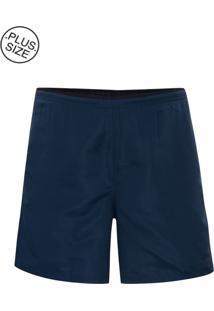 Shorts Tamanho Especial Royal Blue
