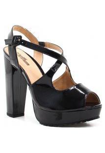 Sandália Zariff Shoes Meia Pata Numeração Grande