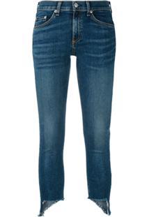 Rag & Bone Calça Jeans Com Barra Assimétrica - Azul