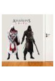 Adesivo De Parede Assassins Creed - Gi 156X130Cm
