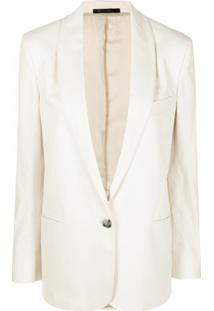 Paul Smith Shawl-Lapel Cotton Blazer - Neutro