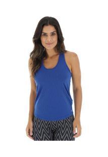 Camiseta Regata Oxer Olímpia - Feminina - Azul