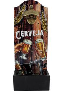 Abridor De Garrafa Com Dispenser Cerveja - Zona Criativa