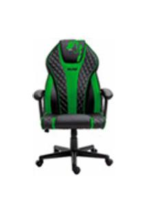 Cadeira Gamer Advanced Snake Naja Reclinavel Giratoria Preta E Verde 411