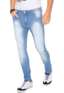 Calça Jeans Be Red Skinny Azul