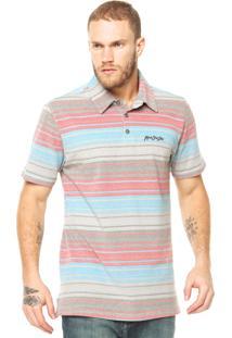 Camisa Polo Mcd Cinza