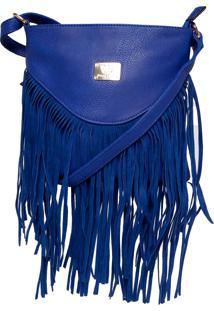 Bolsa Queens Franjas Azul