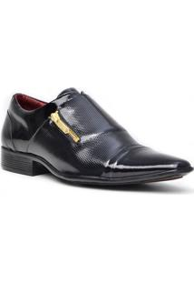 Sapato Social Gofer Promais 11269 Co - Masculino-Preto