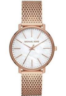 Relógio Michael Kors Pyper Feminino - Feminino-Rosa