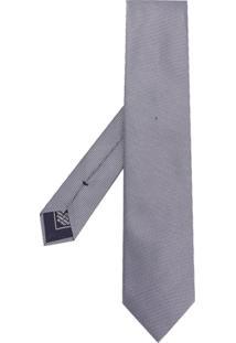 Brioni Gravata De Seda - Branco