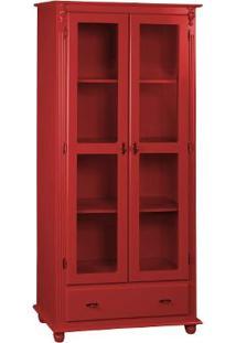 Cristaleira Kaon - Laca Vermelha