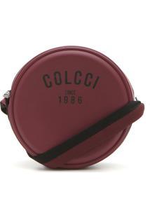 Bolsa Colcci Logo Vinho