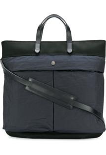 Mismo Shopper Tote Bag - Azul