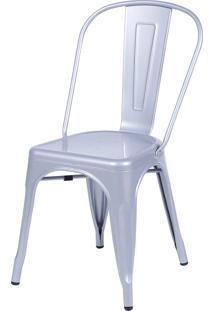 Cadeira De Jantar Retrô Or Design Cinza
