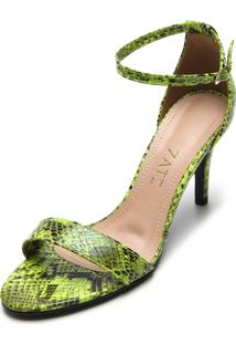 Sandália Zatz Cobra Verde
