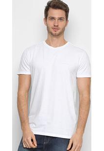 Camiseta Calvin Klein Lisa Masculina - Masculino-Branco