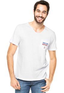 Camiseta Sergio K Single Available Branca