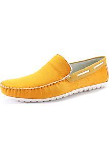 Mocassim La Faire 3024 Amarelo