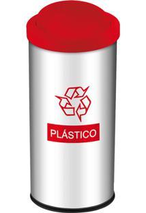 Lixeira Para Plástico Com Tampa 40,5L 3100206 Brinox