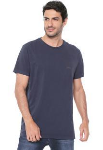 Camiseta Richards Lan Rover Azul-Marinho