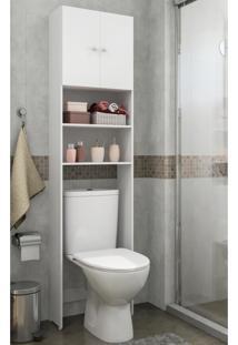 Armário Multimóveis P/ Banheiro 2 Portas Branco