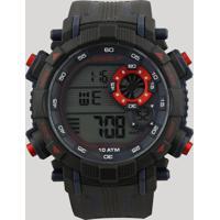 3eda1ff33 Relógio Digital Speedo Masculino - 80596G0Evnp4 Preto - Único
