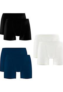 ec331f5e4 Lingerie.com.br. Kit Com 6 Cuecas Boxer Trifil (C04620 4620) Sem Costura  Microfibra