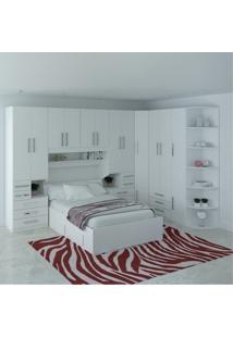 Dormitório De Casal Sem Cama 1222S Branco