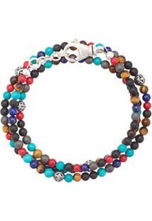 Nialaya Jewelry Pulseira De Contas - Estampado
