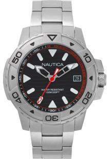 81fed9411f8 ... Relógio Nautica Masculino Aço - Napegt005