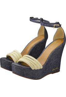 Sandália Barth Shoes Solaris Azul Jeans