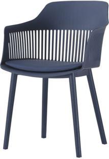 Cadeira Leslie Polipropileno Marinho - 58270 - Sun House