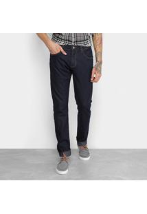 Calça Jeans Slim Forum Paul Básica Masculina - Masculino-Jeans