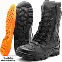 a116964af2 Bota Motociclista Atron Shoes Cano Alto - Masculino