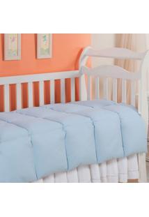 Edredom 100% Pena De Ganso-Baby-120X140-Azul