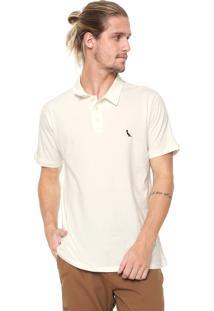Camisa Polo Reserva Reta Basic Off-White