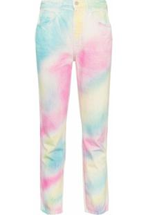 Jordache Vintage Slim-Fit Tie-Dye Jeans - Multicoloured