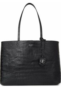 Jimmy Choo Nine2Five E/W Tote Bag - Preto